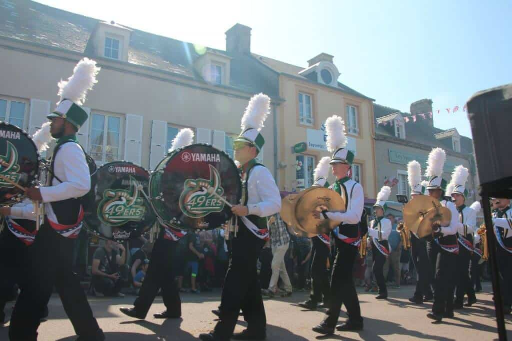 Parade in St. Mere Eglise