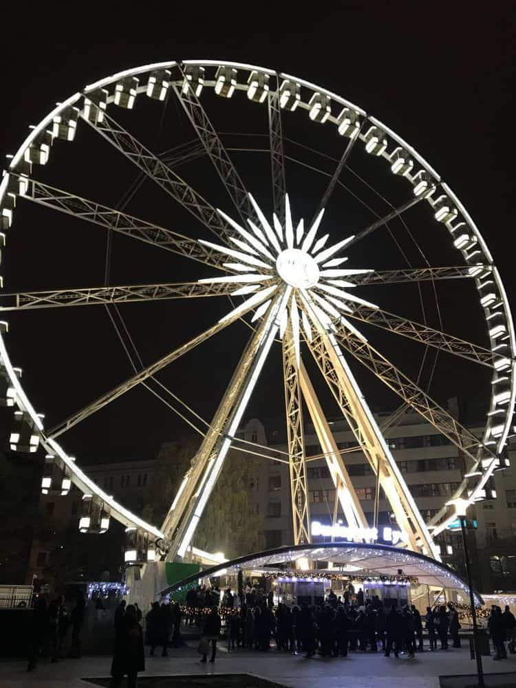 Budapest Eye 2018-A Ferris Wheel on Erzsebet Square, Hungary