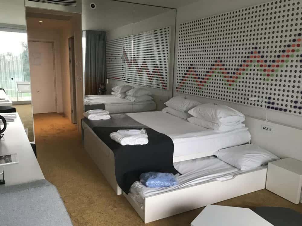 Standard room at the Kinderhotel Family Amarin Hotel, Rovinj, Croatia
