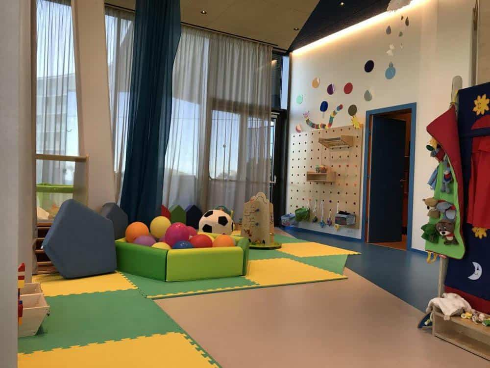 Baby club in the Kinderhotel Family Amarin Hotel, Rovinj, Croatia