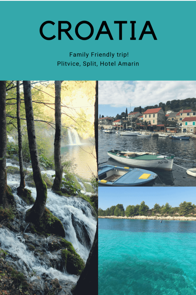 Visiting Croatia with a visit to Plitvice National Park, Split and an all inclusive kids hotel near Rovinj.