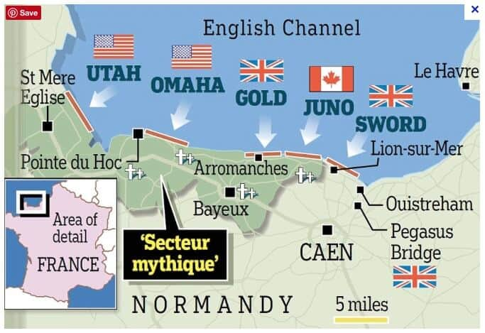 Map Of Normandy France Detailed.Normandy With Kids Pack More Into Life