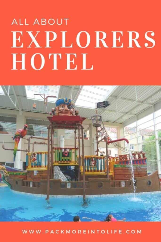 Explorers Hotel near Disneyland Paris