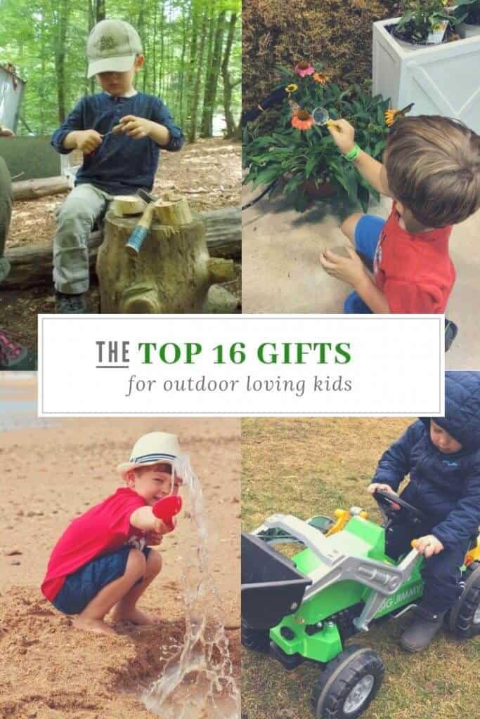 Gift Guide for outdoor loving kids