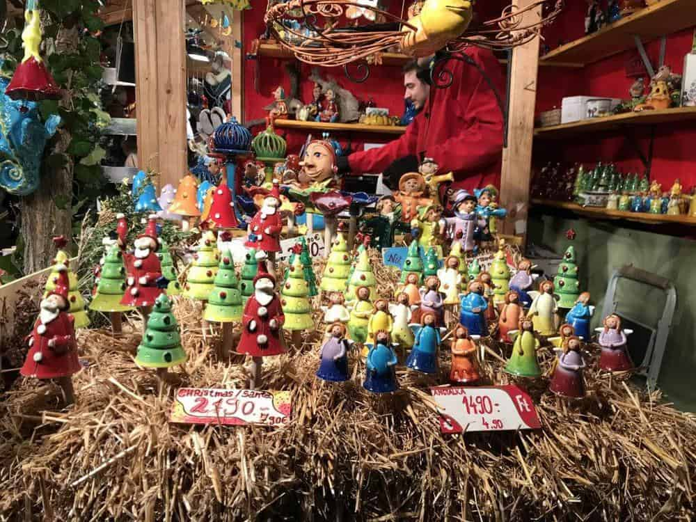 Budapest Christmas Markets items for sale.
