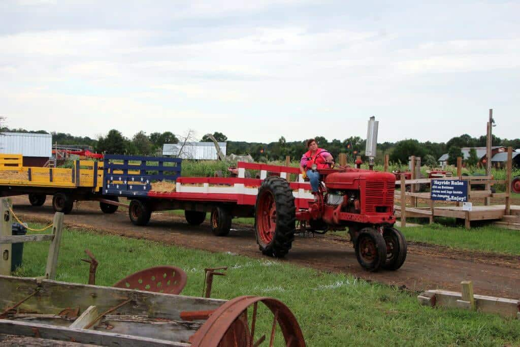 Cox Farms Tractor Hayride