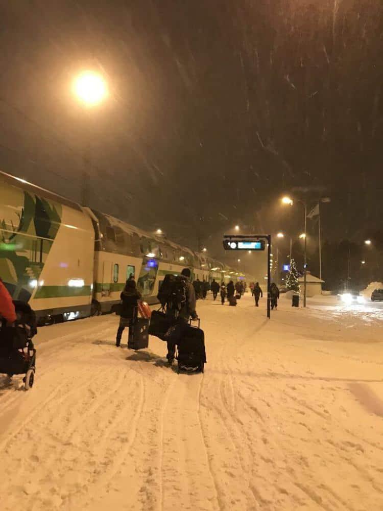 Santa Claus Express Train Lapland, Finland