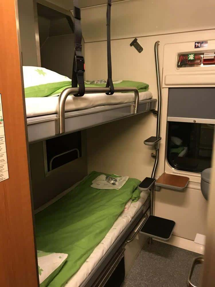 Santa Claus Express Train Lapland, Finland Sleeping Birth