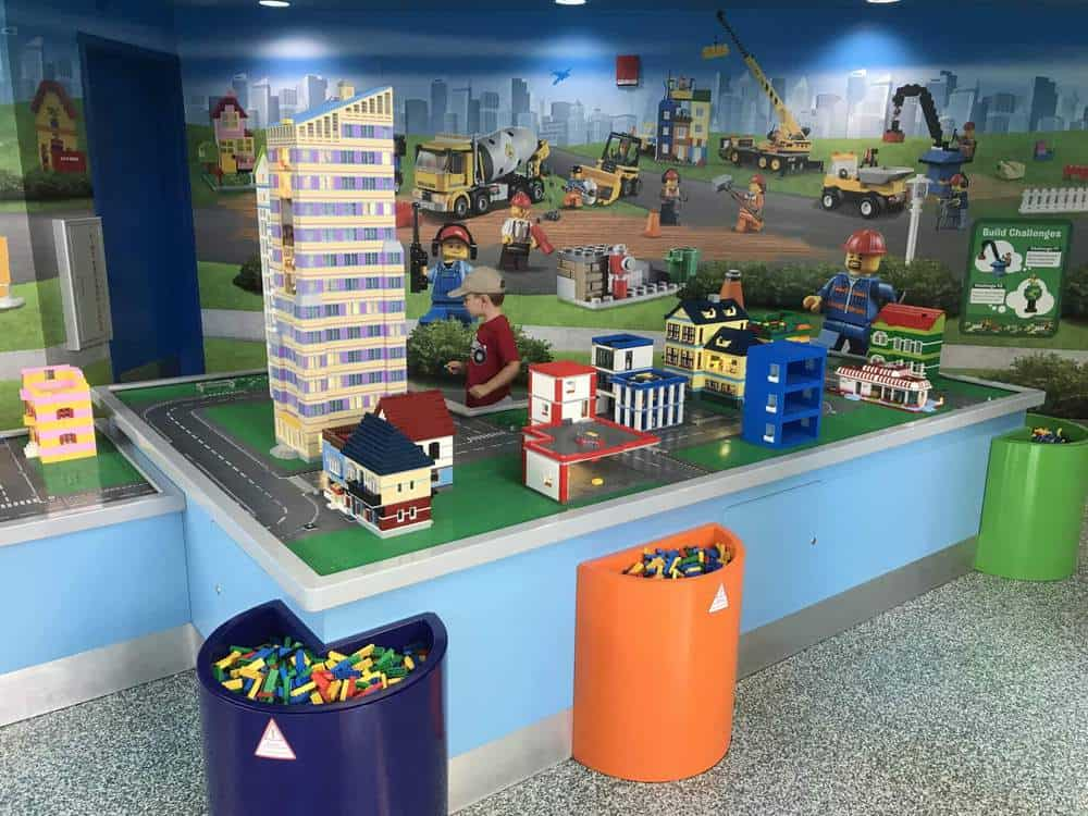 Building Zone at LEGOLAND Florida