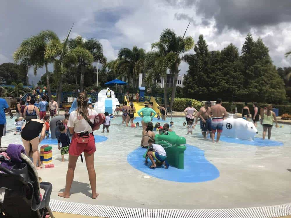 Spray Park at Legoland, Florida