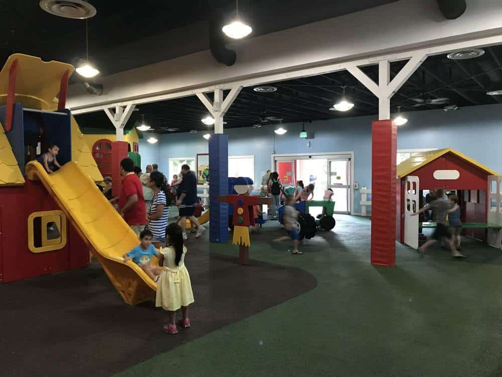 Indoor Duplo Play Zone at LEGOLAND Florida
