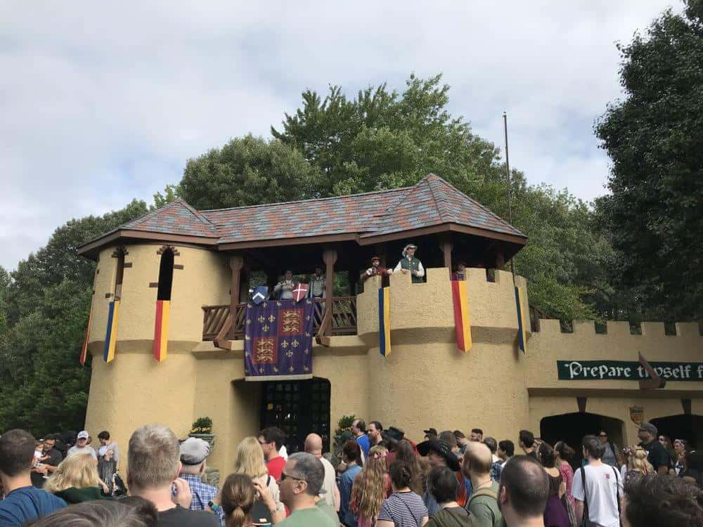 maryland renaissance festival Entrance
