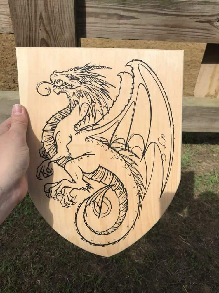 maryland renaissance festival Dragon Shield