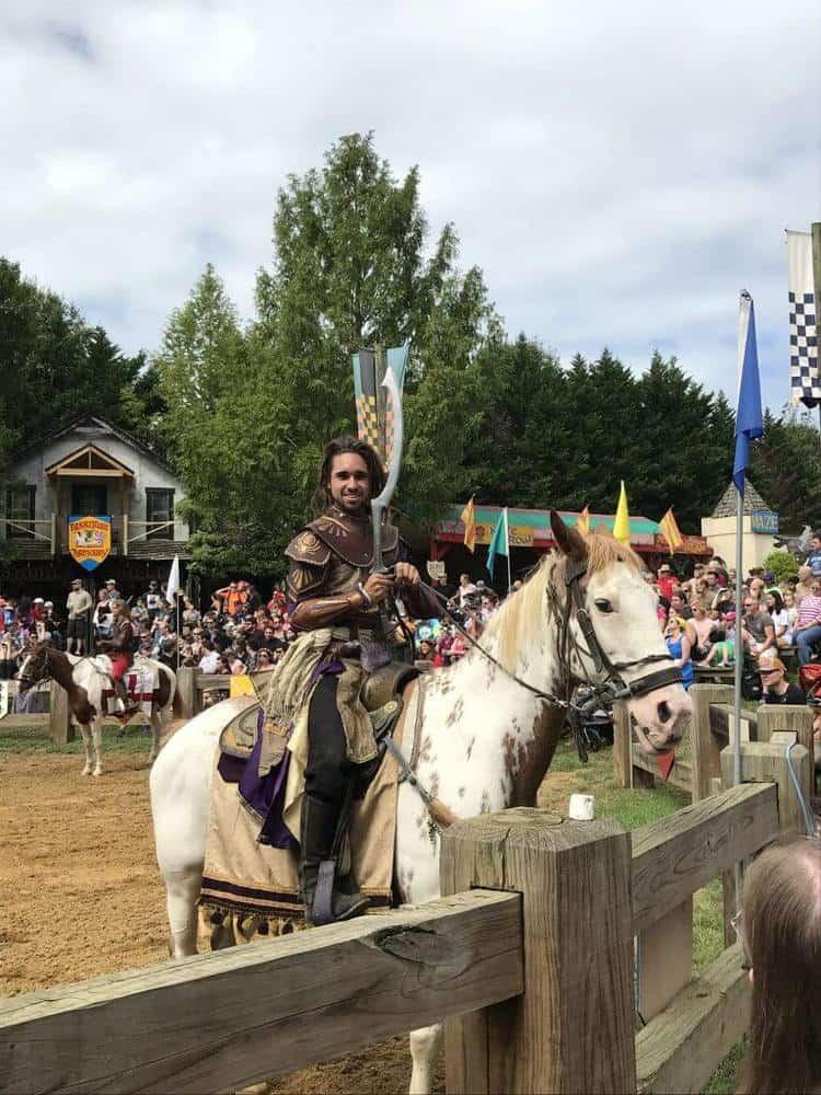 maryland renaissance festival Jousting