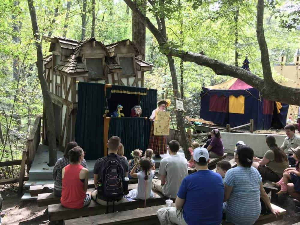 maryland renaissance festival Crooked Cottage Stage