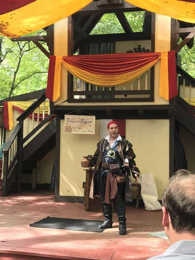 maryland renaissance festival Treasure Quest