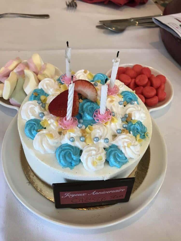 Birthday Celebration at Disneyland Paris