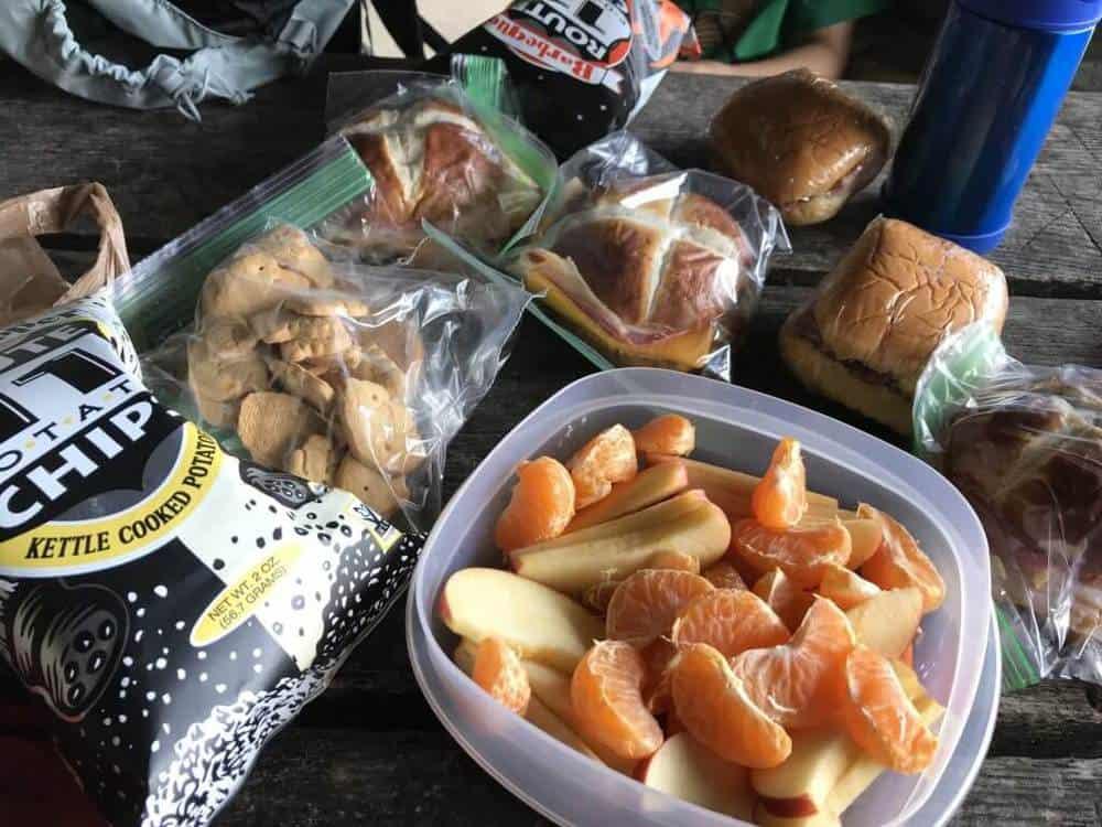 Shenandoah National Park picnic