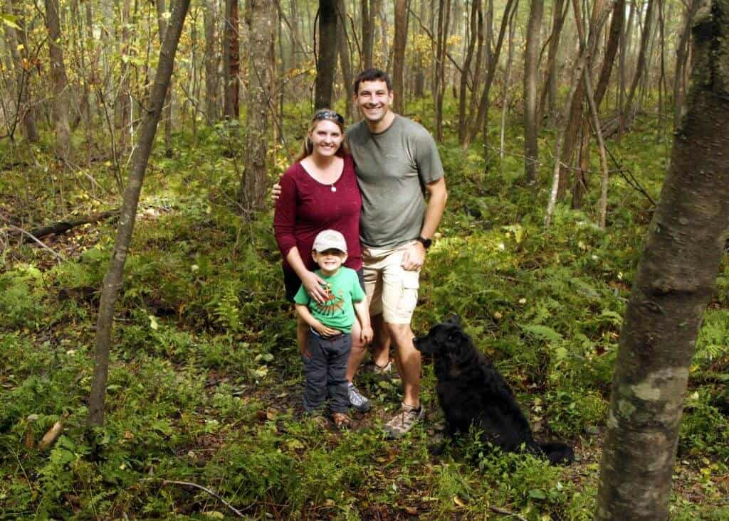 Shenandoah National Park family photo