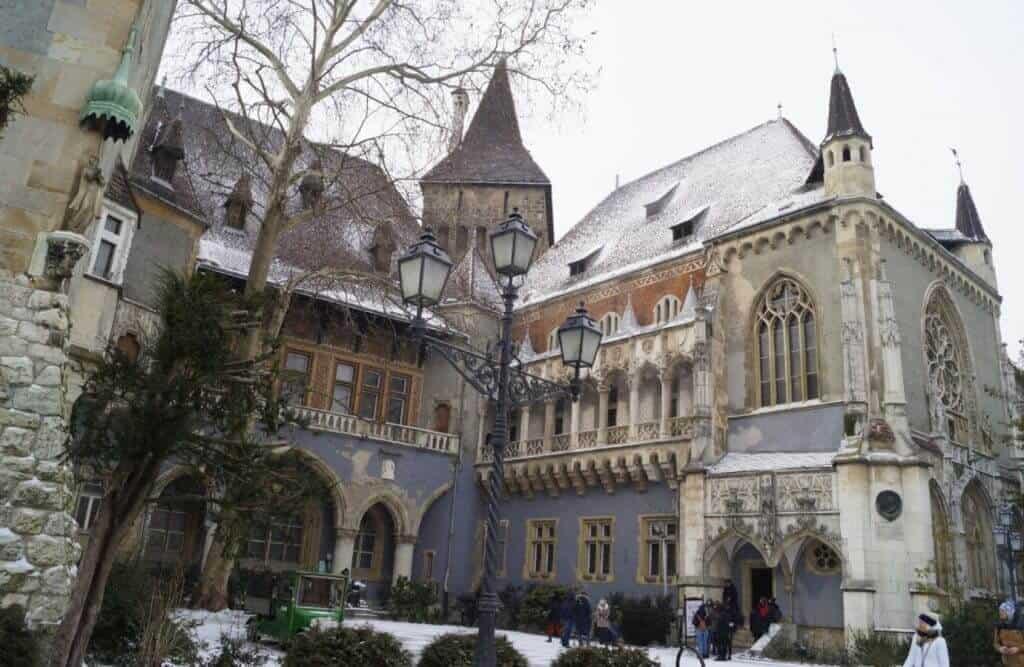 Vajdahunyad Castle Budapest, Hungary