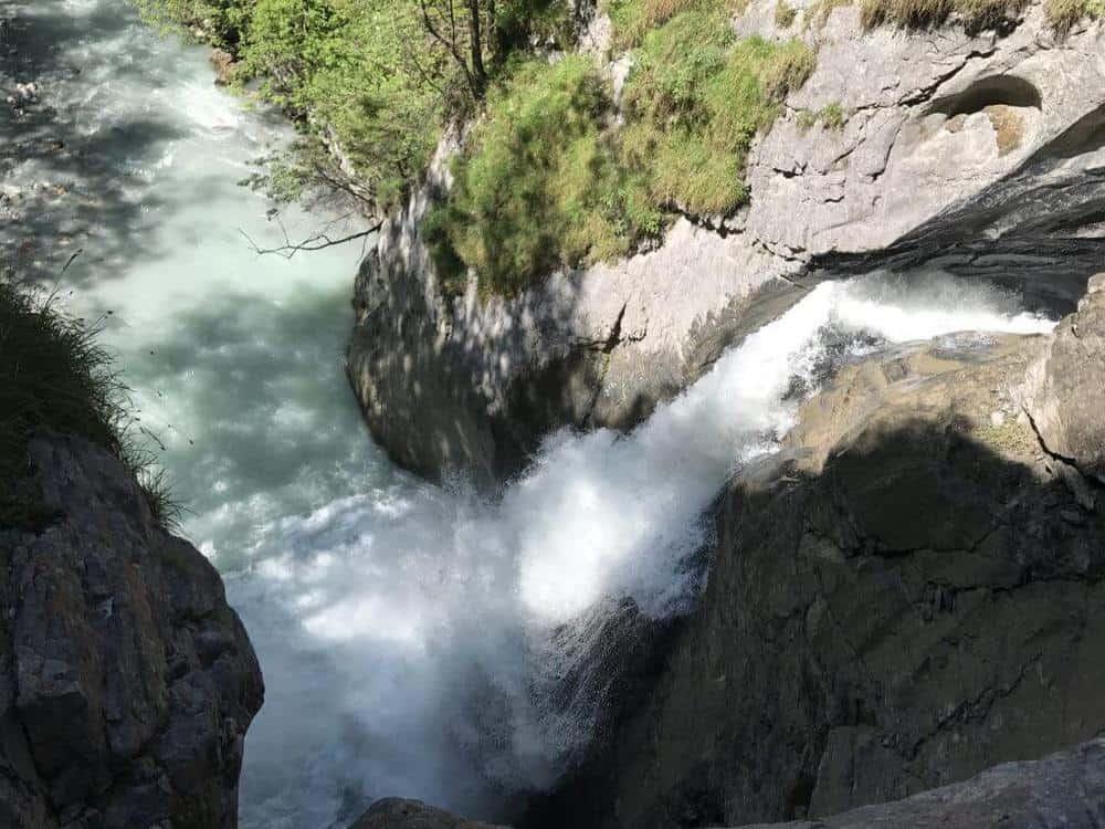 Trümmelbach Falls in Lauterbrunnen