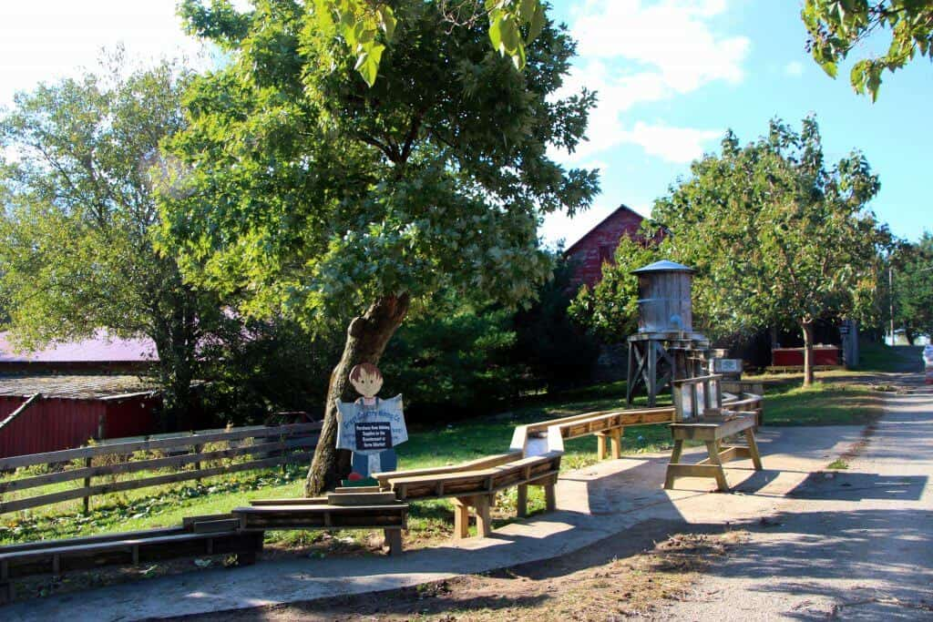 Great Country Farms Bluemont, Virginia mining play area