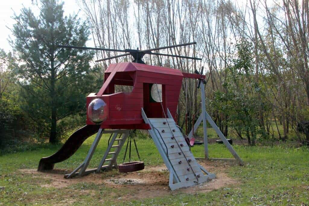 Great Country Farms Bluemont, Virginia helicopter playground