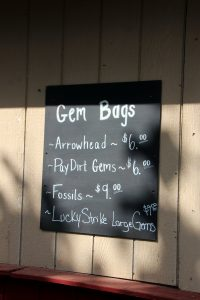 Great Country Farms Bluemont, Virginia gem bags for mining