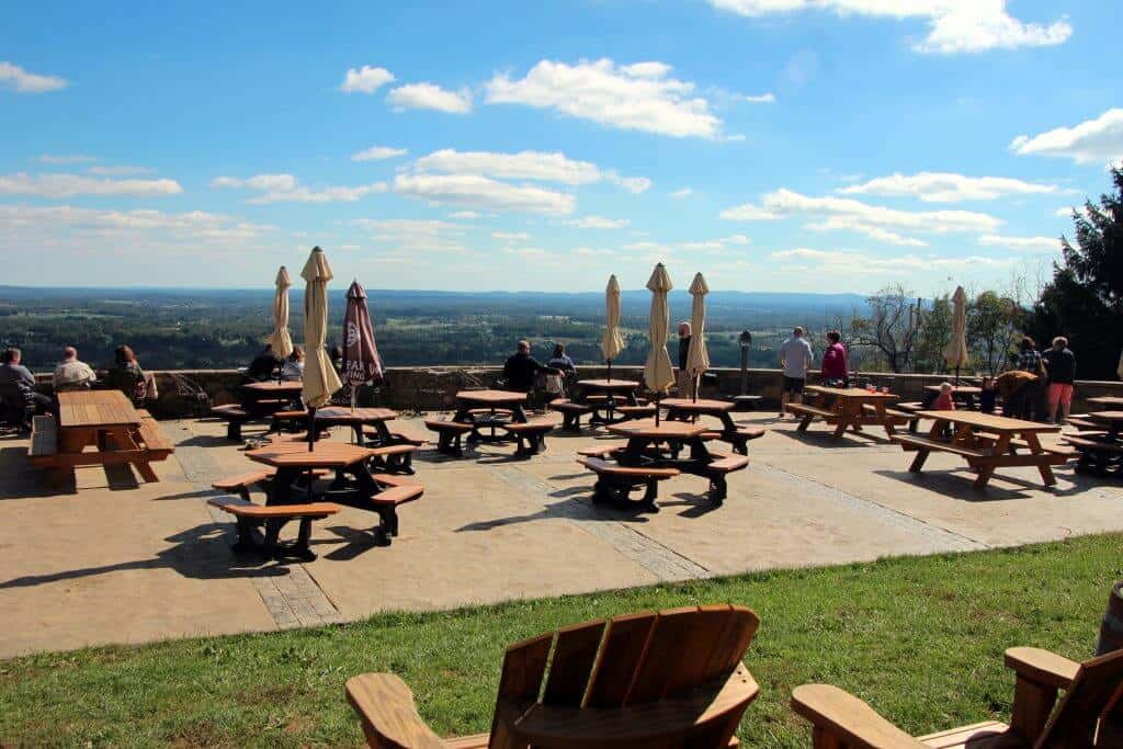 Dirt Farm Brewing | Blue Ridge Mountains | Seating