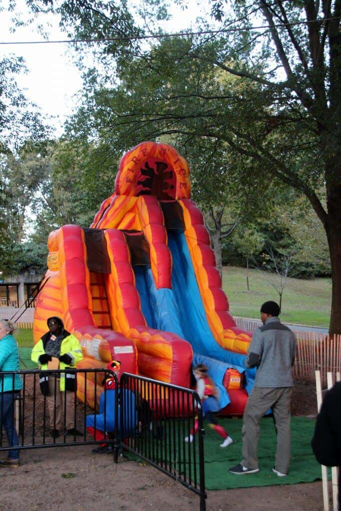 national zoo dc Boo at the Zoo Inflatable Slides