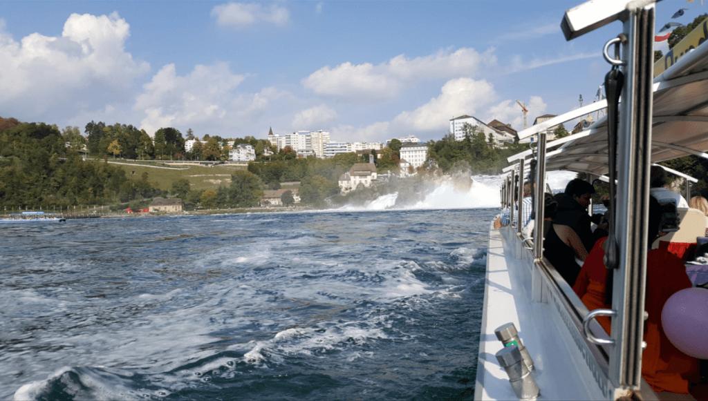 Rhine Falls, Switzerland Boat tour