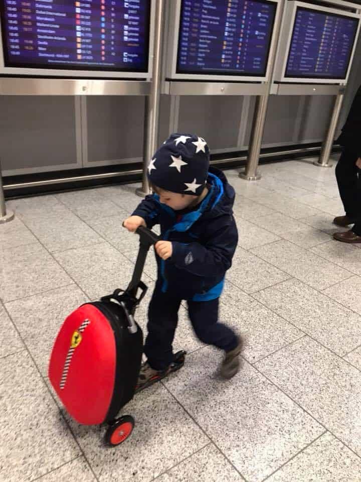 Riding Suitcase