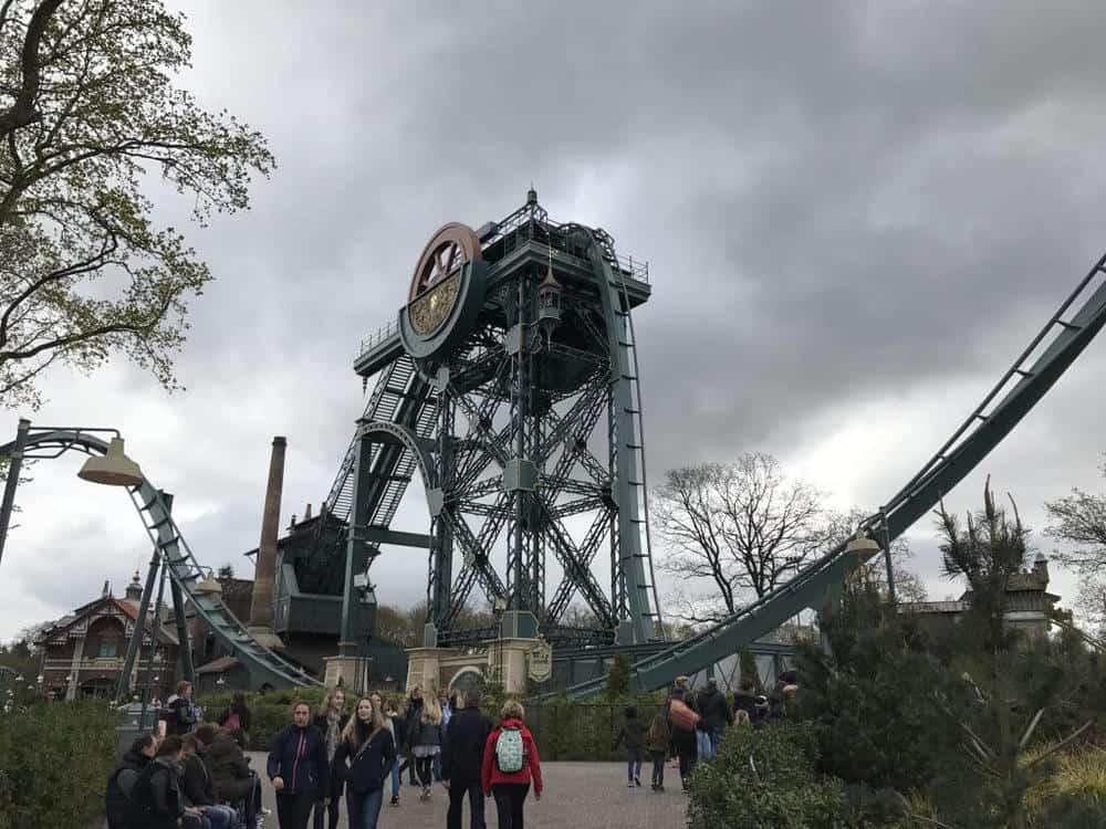 Efteling theme park in the Netherlands