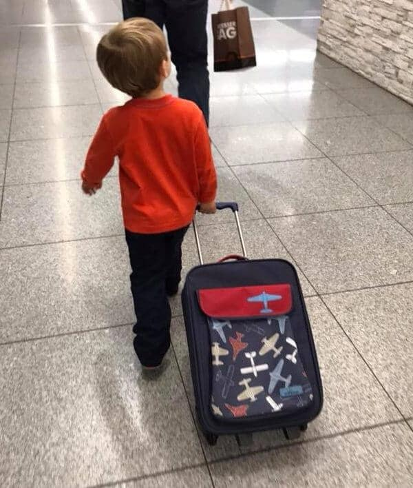 Kids Size rolling suitcase