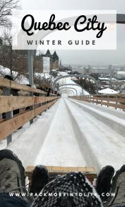 Winter Wonderland in Quebec City with Kids