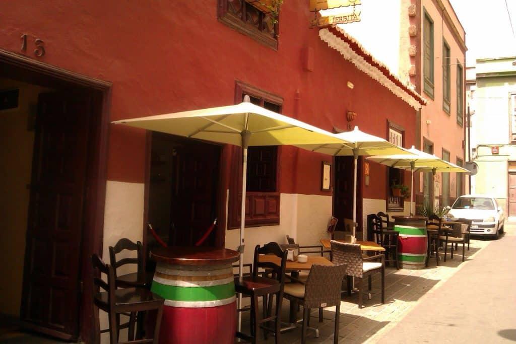 Restaurante La Hierbita Santa Cruz Tenerife Spain