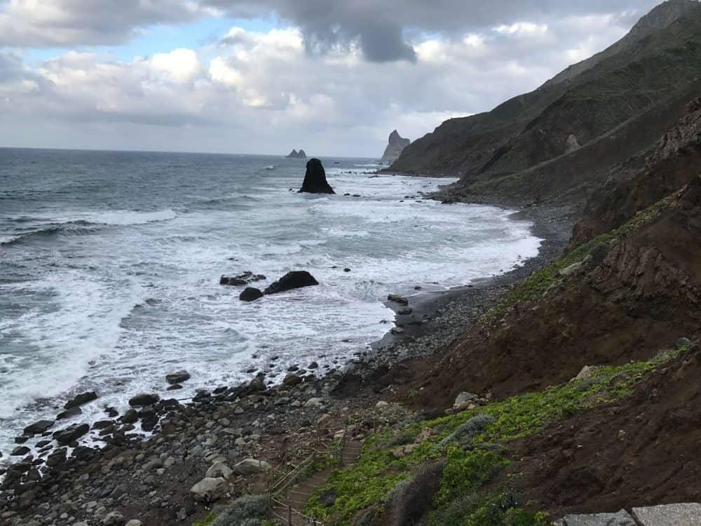 Playa de Benijo in Taganana Tenerife Spain