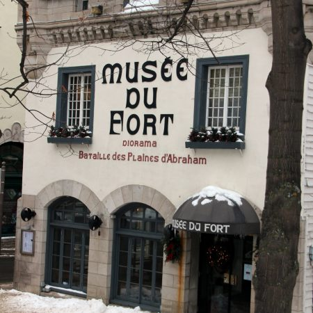 Fort Museum in Old Quebec City Canada